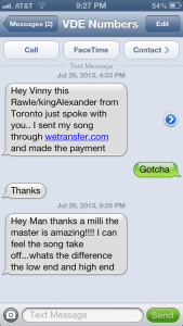 online mastering testimonials