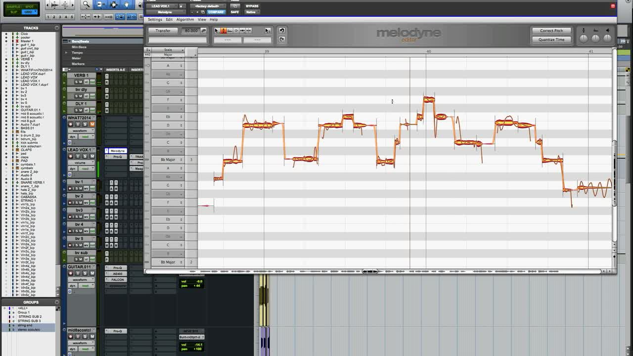sound recording screen