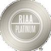 RIAA Platinum plaque