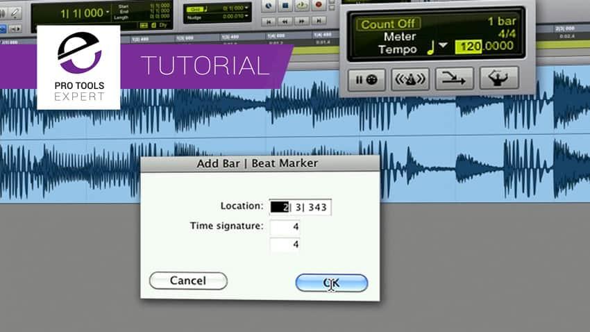 Cómo encontrar el tempo de un ritmo con Pro Tools