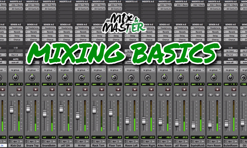 Mix music online by Mr mix and master explains the basics of music mixing, pro tops on how to obtain the perfect mix when mixing audio