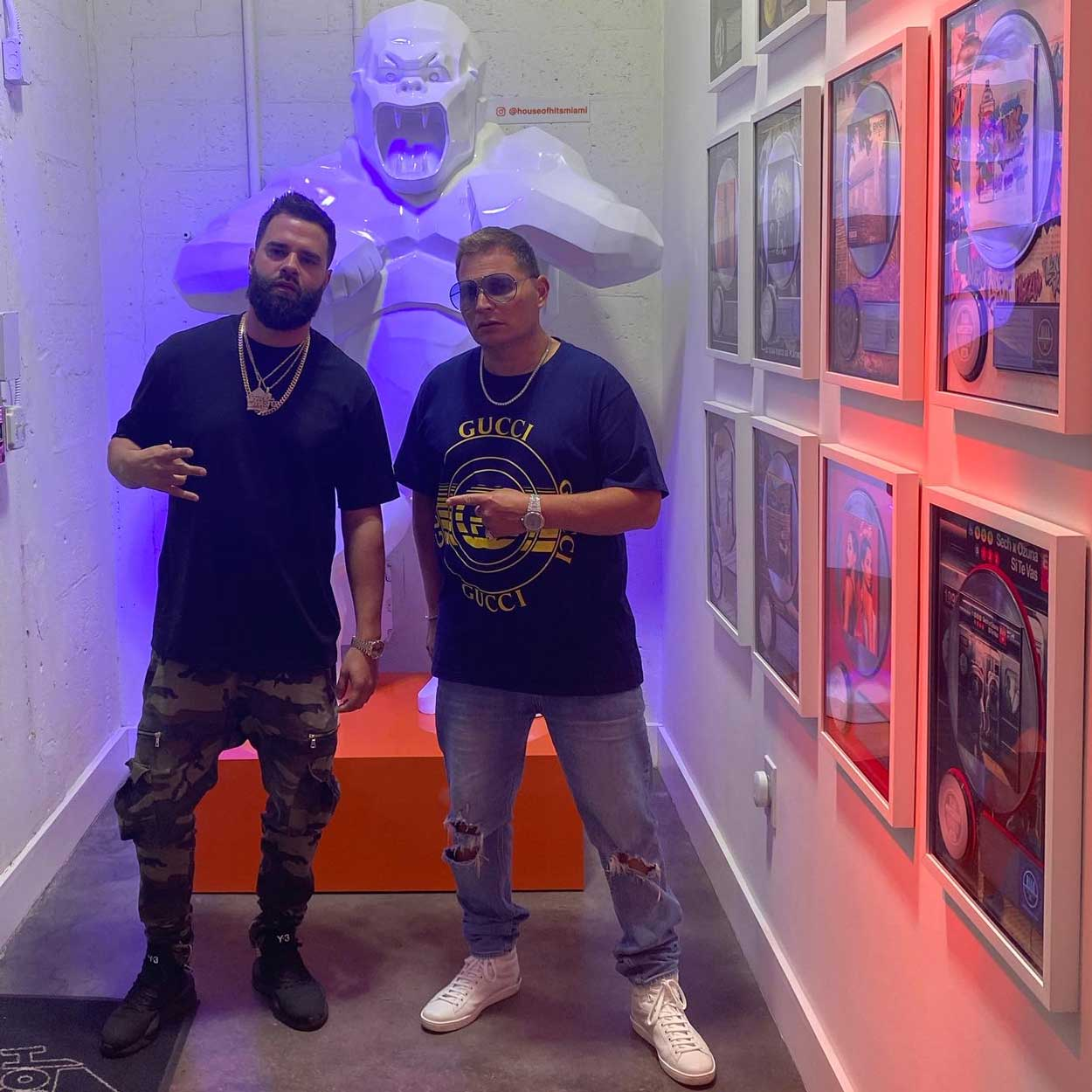 Mr Mix and Master With Scott Storch at House of Hits Miami