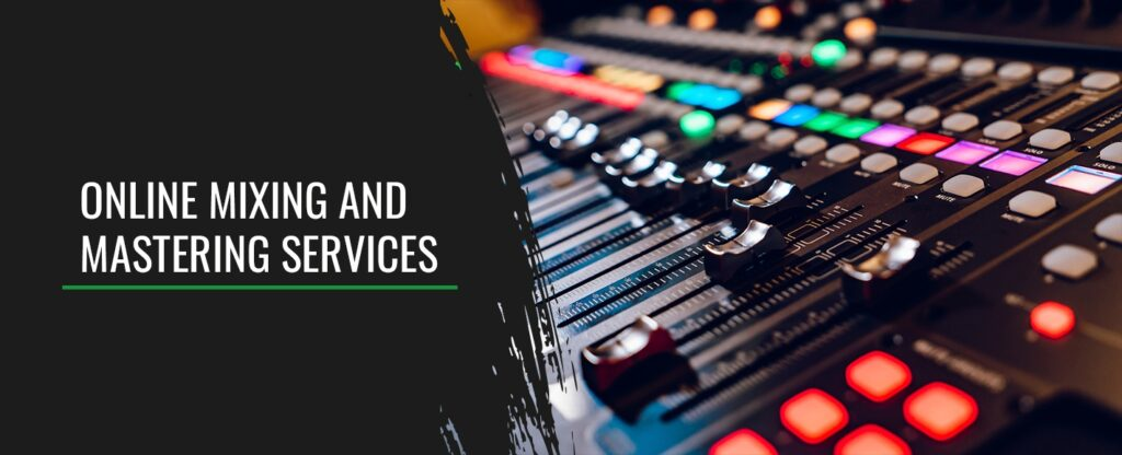 online mixing and mastering service